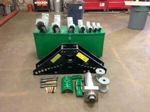 Used Greenlee 885 Conduit Bender 1 1 4 Thru 4 Rigid
