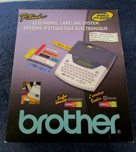 Brother P touch Label Maker Ac Adapter Pt2200 Labeling System Vv33