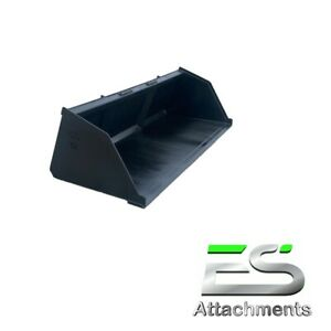 New Powder Coated 90 Snow mulch dirt gravel Bucket For Skid Steer Local Pick Up