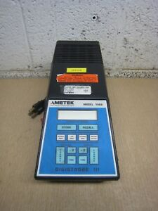 Ametek Digistrobe Iii Model 1965 Stroboscope Tachometer No Handle Free Shipping