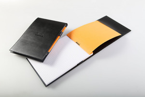 Rhodia Pad Holder And Pad 6x8 75 Black