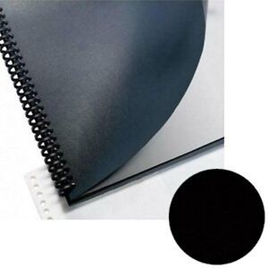 Sircle Leatherette Binding Covers 15 Pt Black 8 5 X 11 500 pack black