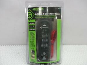 Greenlee Gt 65 Voltage Continuity Tester 1000vac
