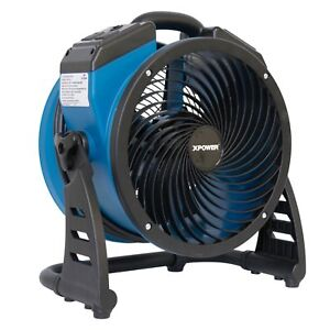 Xpower P 21ar Compact Industrial Axial Fan Air Mover With Daisy Chain Outlets