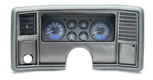 Dakota Digital 78 88 Chevy Monte Carlo Analog Gauges Carbon Blue Vhx 78c Mc C B
