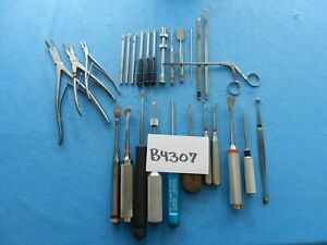 Synthes R Wolf Codman Zimmer Surgical Orthopedic Instruments Lot Of 27