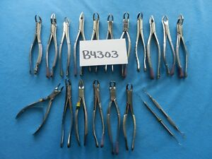 Clev dent Hu friedy Miltex Surgical Dental Instruments Lot Of 19