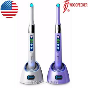 Usa Woodpecker I Led Dental Curing Light 1 Second Cure Lamp 2300mw cm2 Original