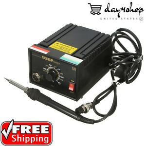 110v 220v Inverter Frequency Change Electric 936 Power Soldering Station Iron Us