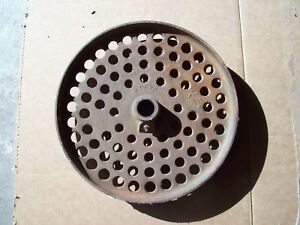 Vintage John Deere Cast Iron Drill Press Wheel 13