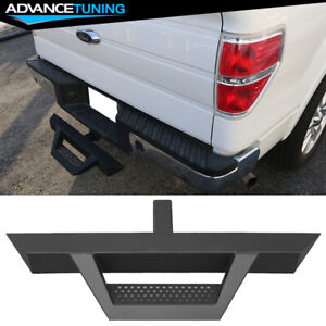 Universal Textured Hitch Step Bumper Guard W 2inch Receiver 31 5inch V2 Style