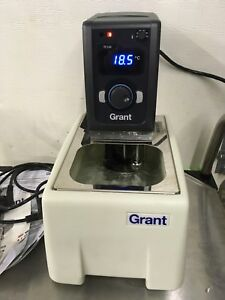 Grant Tc120 Heated Circulating Water Bath Used 220 240v