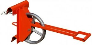 Long Handle Hoisting Wheel For Use With Extension Ladder Uses 1 2 To 1in Rope