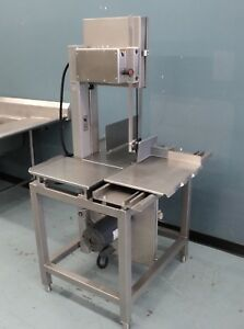 Hobart 6614 Commercial Meat Butcher Band Saw Deer Beef Pork Chic Very Clean