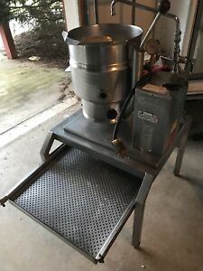 Groen Model Tdb 7 20 Steam Jacketed Tilt Kettle 3 Phase Electric