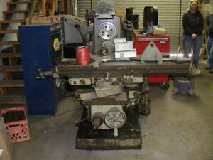 Cincinnati 2u Horizontal Milling Machine B4605 2