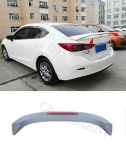 Factory Style Spoiler Wing Abs For 2014 2018 Mazda 3 Sedan Light Wing 1pcs A
