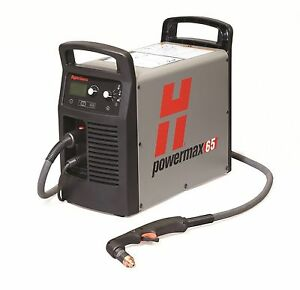 Hypertherm 083270 Powermax 65 Plasma Cutter 25 Hand Torch Fac Reconditioned