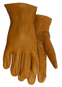 American Made Buffalo Leather Work Gloves 650 Size Extra Large Xl
