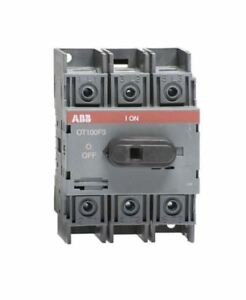 Ot100f3 Abb Non fused Disconnect Switch 100 Amp 3 pole