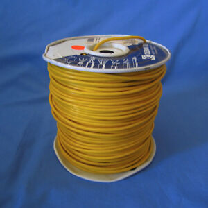 Coleman Cable 12 Mtw tew Copper Machine Tool Wire Yellow Partial Roll 900 950