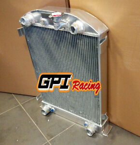Aluminum Radiator Ford High Boy Hiboy Hi Boy W Flathead Engine 1932 32