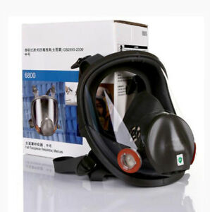 Safety Paint Spraying For 3m6800 Full Face Mask Chemical Gas Mask Respirator