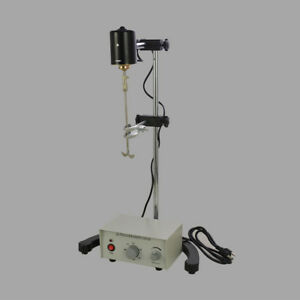 Biochemical Overhead Stirrer Mixer Height Adjustable Drum Mix 3000rpm