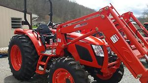 Kioti Rx7320 4wd Tractor With Front End Loader