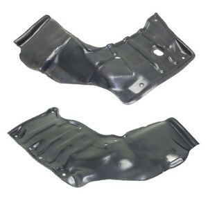 For 88 92 Corolla Engine Splash Shield Under Cover W auto Trans Left Right Pair
