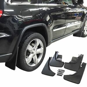 Jeep Grand Cherokee Mud Flaps 2011 2018 Guards Protectors 4pc Front And Rear Set