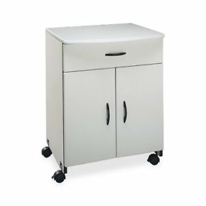 Buddy Products Wood Laser Printer And Copier Stand With Drawer 23 X 31 125 X 23