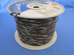 18 Gauge Mtw tew Stranded Copper Wire Brown White Stripe Partial Roll 400 450