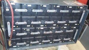 48 Volt Gnb exide Element Battery Maintenance Free Battery Tested Great Cond