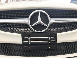 License Plate Holder Mounting Relocator Adapter Bumper Bracket For Mercedes benz