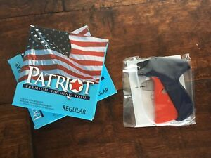 New Two Authentic Patriot Tagging Guns In Box With Tagging Barbs And Needles