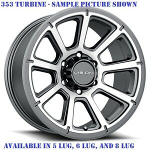 4 New 20 Wheels Rims For Lincoln Mark Lt Navigator 6 Lug 27206