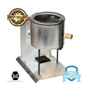 Electric Metal Melter Pot Equipment Furnace Casting Heating Melting Iron Lead