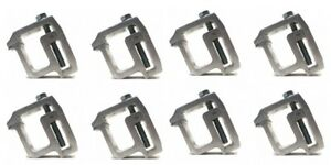 8 New Heavy Duty Aluminum Mounting Clamp For Truck Cap Topper Camper Rv Rail