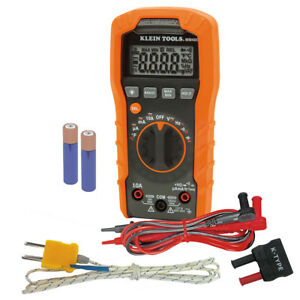 Klein Tools Mm400 Digital Multimeter Auto ranging 600v 22688