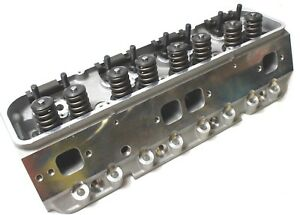 Outlaw Aluminum 1 60 2 02 Valves Chevy Small Block Cylinder Head Engine Works