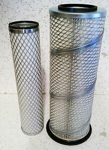 Ford Tractor Inner Outer Air Filter Set 4610 4630 4830 5030 530a 530b 5600 5610