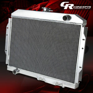 For 68 74 Amc Javelin amx rambler ambassador 2 two Row core Aluminum Radiator
