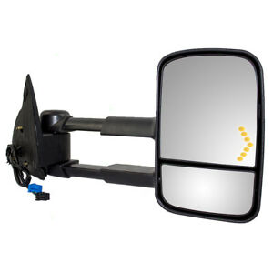 Cadillac Gmc Chevy Pickup Truck Passengers Side Power Tow Mirror Heated Signal