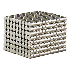5 10 20pcs N52 Super Strong Cylinder Magnets 19mm X 19mm Rare Earth Neodymium