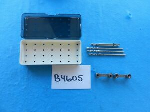 Djo Surgical Orthopedic Drill Guide Instrument Set W Case