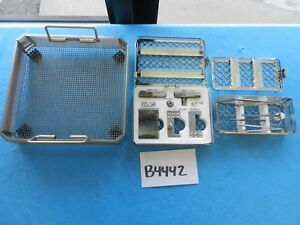 Kurz Surgical Ent Instrument Set W Tray Cases
