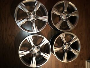 20 20 Inch Factory Oem Chevy Camaro Ss Wheels Rims Staggered 5760 5764 Set Of 4