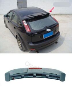Factory Style Spoiler Wing Abs For 2006 2010 Ford Focus Hatchback St Rs