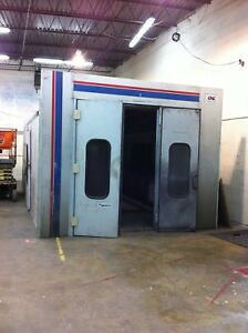 Cmc 24 Drive Through Downdraft Paint Booth